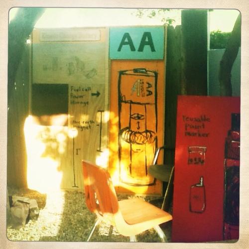 East Austin Studio Tour 2012 kinetic battery