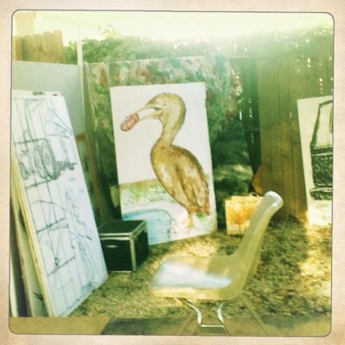 East Austin Studio Tour 2012 giant pelican